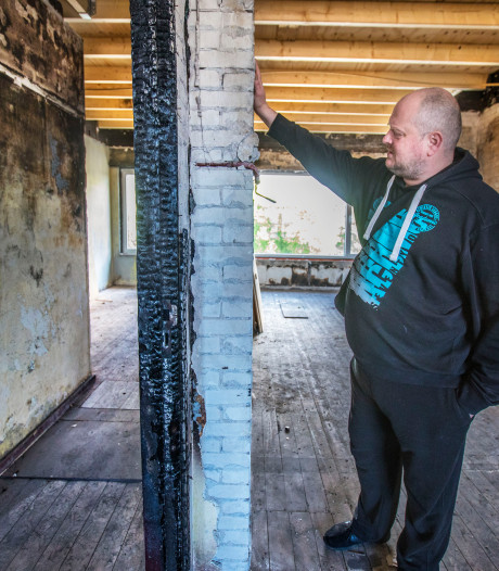 Dubbel verzekerd, maar 10 maanden later kan Duncan nog niet terug naar huis na allesverwoestende brand