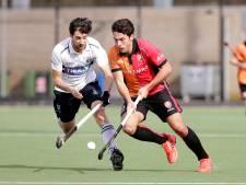 Hockeyers Oranje-Rood walsen in tweede helft over Klein Zwitserland heen