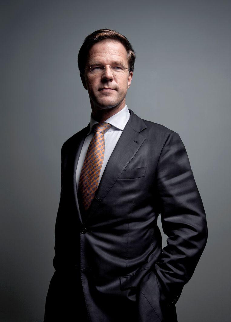 Rutte in 2010. Zijn eerste kabinet, met Wilders op de bagagedrager, begon hij met de constatering dat rechts de vingers zou aflikken bij het regeerakkoord. Beeld Mike Roelofs
