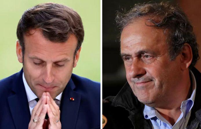 Emmanuel Macron était-il prêt à aider Michel Platini dans ses ennuis judiciaires?