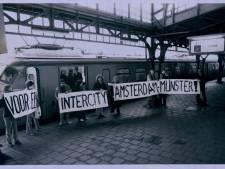 Waarom duurt de treinreis van Enschede naar Amsterdam CS net zo lang als in 1970?