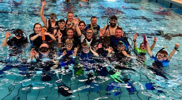 Ook de jeugd vindt steeds vaker de weg naar duikclub Orka.
