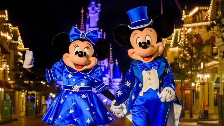 Minnie en Mickey in Disneyland. Beeld Disney