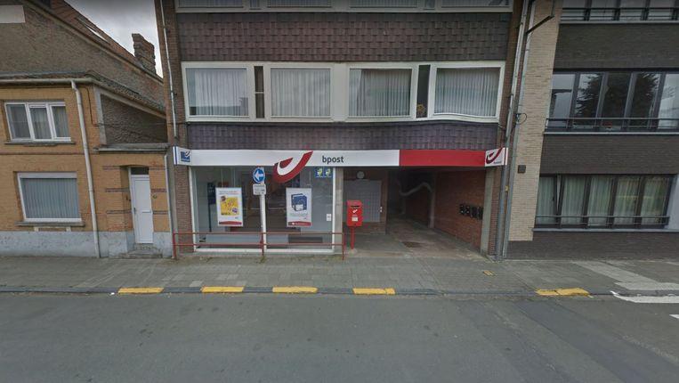Het Bpost-kantoor in de Stadionstraat in Stekene.