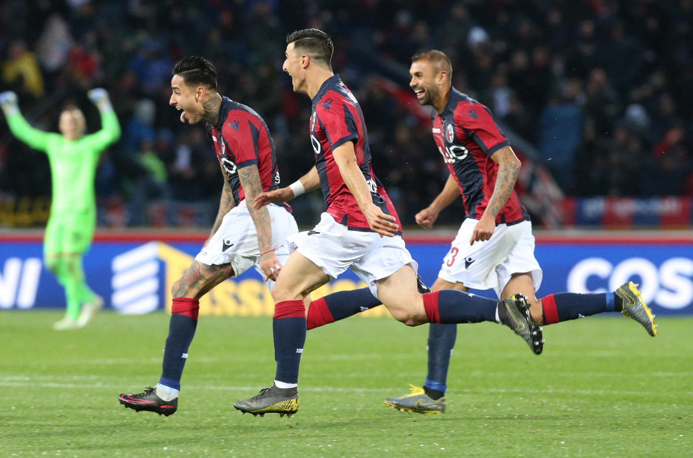 Bologna viert feest.