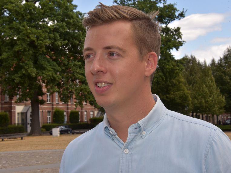 Hannes Anaf staat op de tweede plaats bij de Vlaamse verkiezingen in mei.
