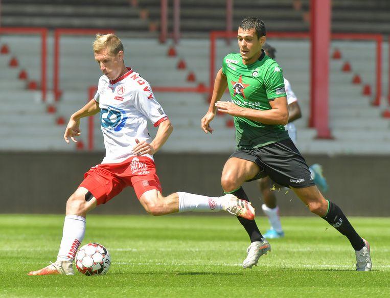 Michiel Jonckheere verliet KV Oostende voor KV Kortrijk.