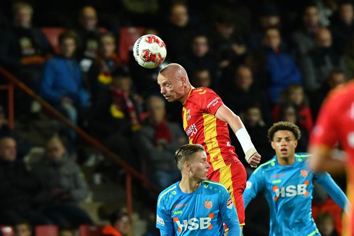 Elmo Lieftink en Go Ahead Eagles waren eerder dit seizoen in Deventer met 3-0 de baas over Volendam.