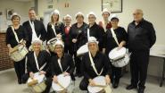 Video: Het voormalig trommelkorps van Immer Vooruit treedt na 32 jaar nog eens op
