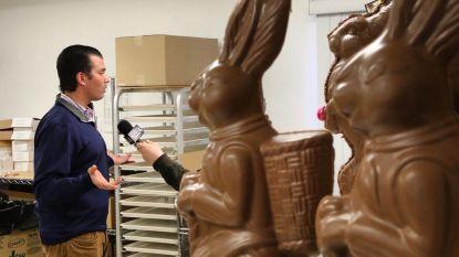 Als Donald Trump Jr. poseert in een chocoladefabriek, dan smult het internet