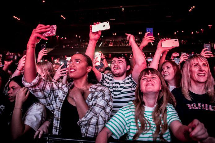 Begin dit jaar liep de Afas Live nog vol voor een concert van de Britse rapper Stormzy.