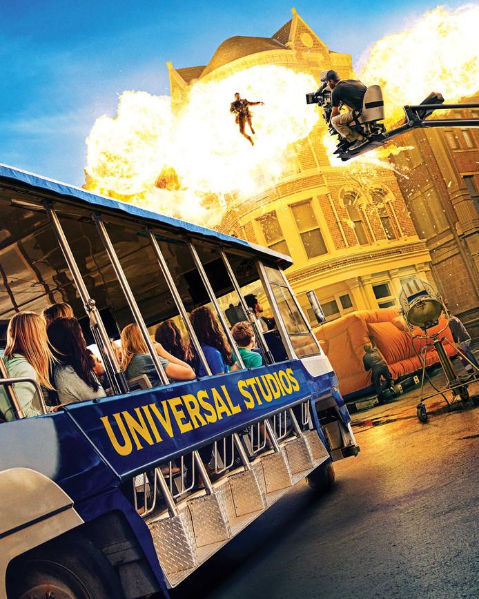 Le tour des studios d'Universal.