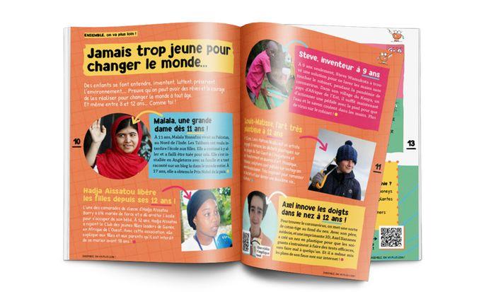 Le magazine WoW! sera livré avant Noël.
