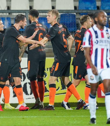 Schotse kranten: 'Willem II was gevaarlijk, maar Rangers was klinisch'