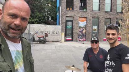 """Tattoo Mike doet oproep in ludiek filmpje: """"Allen naar Brussel voor Kortrijk Drumt"""""""