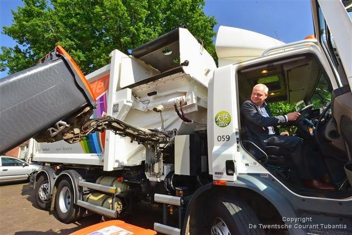 Gescheiden ophalen van afval, zoals groente-, fruit- en tuinafval is in Tubbergen een groot succes.