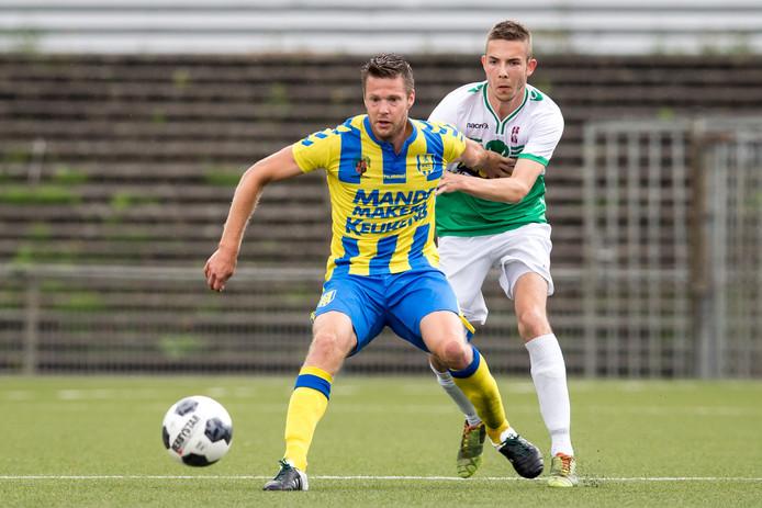 Het meespelen van Johan Voskamp in de competitieouverture tegen Telstar is twijfelachtig.