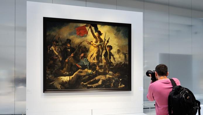 """""""La Liberté guidant le peuple"""", Eugène Delacroix"""