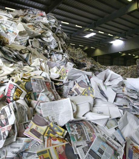 Oud papier wordt weer opgehaald in Borne