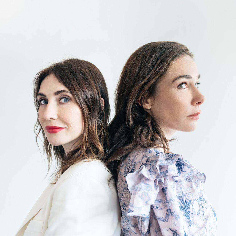 Carice van Houten (links) en Halina Reijn hebben samen hun eerste speelfilm gemaakt.
