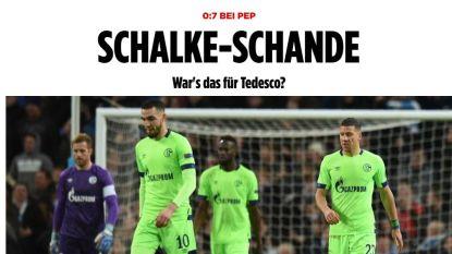 """""""De Schande van Schalke"""", maar club beschikt over zelfspot: """"Dat Theresa May eens verdedigt tegen Sané"""""""