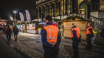 Gentse flikken oefenen op 'Behaviour Detection' op Winterfeesten