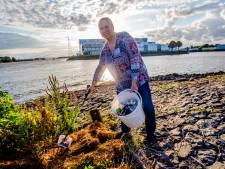 Zwerfafvalkoningin Ingrid is na 100.000 stukken rotzooi nog lang niet uitgeraapt