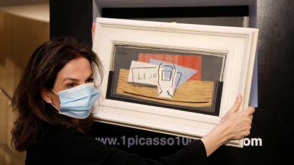 Italiaanse vrouw wint schilderij van Picasso met loterij