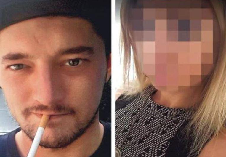 Andy (links) had ruzie met zijn vriendin, die hem bedroog met haar ex.