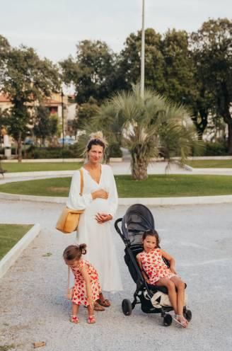 """COLUMN. Lara (34) is zwanger van haar derde kind en ongeneeslijk ziek: """"Het bezoek aan het ziekenhuis is een rollercoaster, zonder gieren en brullen"""""""