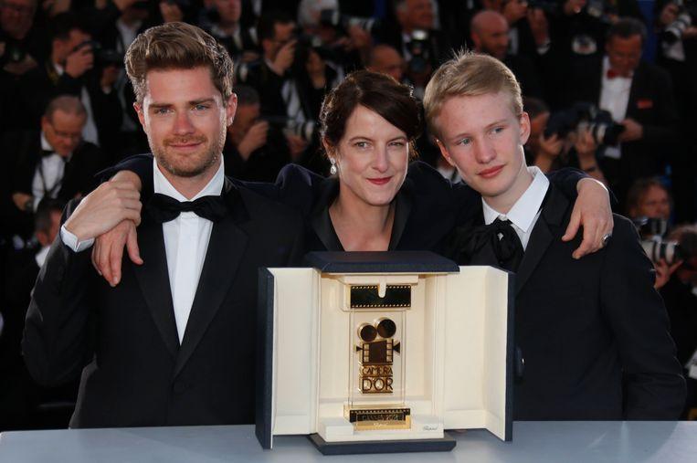 Girl in Cannes, met regisseur Lukas Dhont en Victor Polster