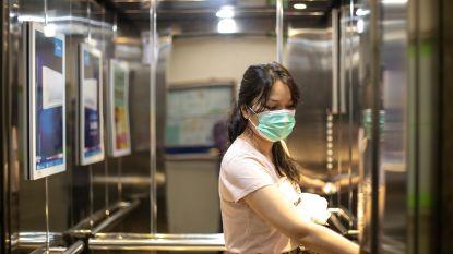 Besmette vrouw zat alleen in lift en toch leidde dit tot 71 andere besmettingen