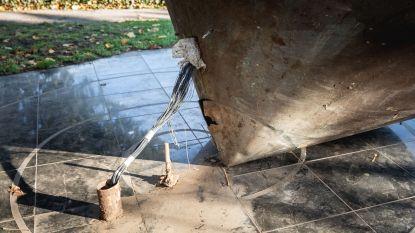 Monument Michaël Lustig weer mikpunt van vandalen