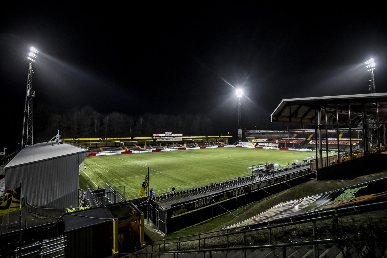 De Koel, waar VVV-Venlo vanmiddag Ajax ontvangt.