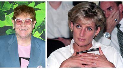 """Elton John: """"Prinses Diana zorgde ervoor dat Sylvester Stallone en Richard Gere bijna op de vuist gingen"""""""