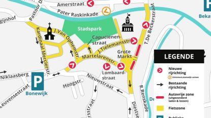 Nieuw verkeerscirculatieplan 1 juli van start