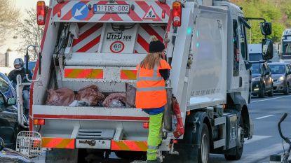 Net Brussel zal oude groene zakken voortaan laten staan
