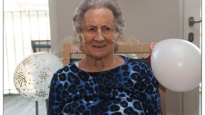 Maria De Pourcq viert 100ste verjaardag in Kanunnik Triest