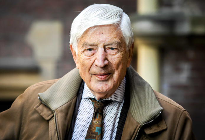Oud-premier Dries van Agt.