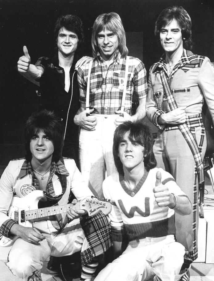 De Schotse formatie The Bay City Rollers