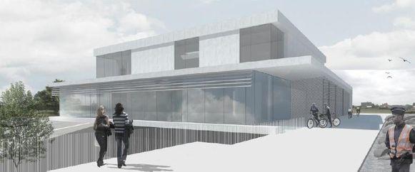 Het nieuwe politiehuis komt aan de Edingsesteenweg in Kester.