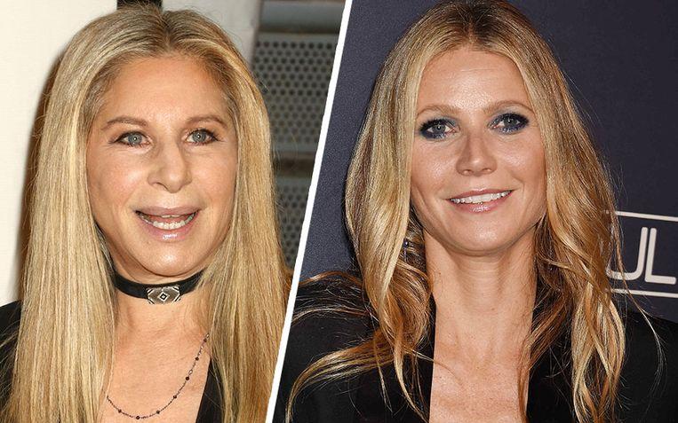 Barbra Streisand en Gwyneth Paltrow