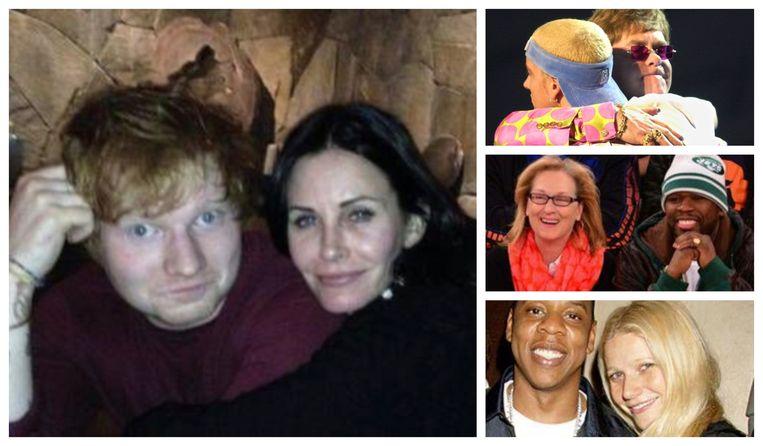 Celebrity vriendschappen