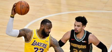 James et Davis portent les Lakers, nouveaux leaders à l'Ouest