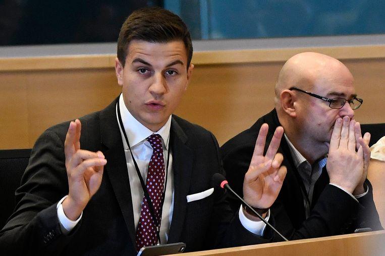 Dries Van Langenhove, wel in de Kamer, niet in de UGent.