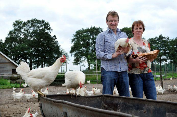 Gerrit en Thea Lansink van De Boderie in Albergen.