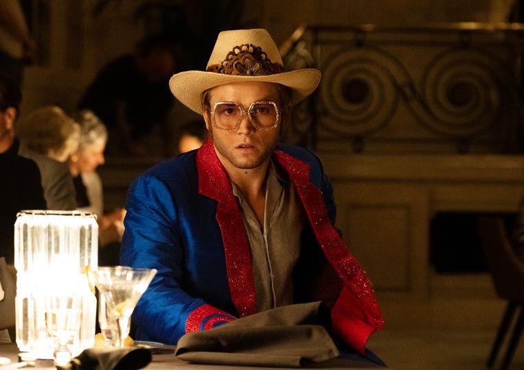 Taron Egerton als Elton John in Rocketman. Beeld David Appleby