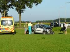 Auto in de flank geramd bij Wesepe