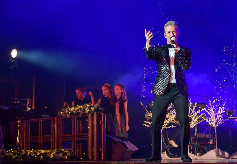 Christoff zal samen met zus Lindsay kerstliedjes zingen in de Sint-Amanduskerk.