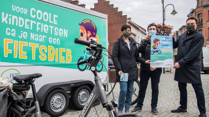 """Gemeente en Beweging.net lanceren samen de Fietsbieb: """"Groeiende kinderen op betaalbare manier aan nieuwe fiets helpen"""""""